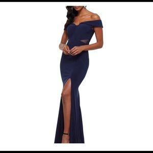 NWT Xscape navy dress